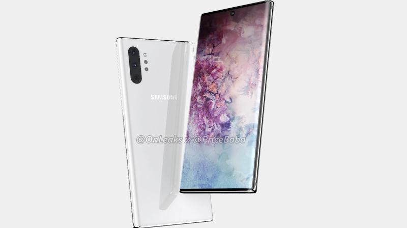 The Samsung Galaxy Note 10 Pro will feature a 6.75-inch Dynamic AMOLED display with a 1440 x 3040 resolution and HDR10+ support.