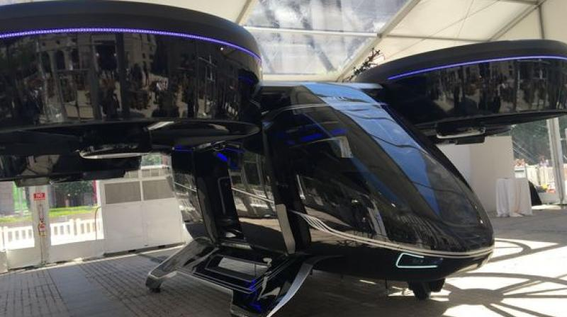 Allison went on to state that launching this flying air taxi service is pretty ambitious. (Photo: AFP)