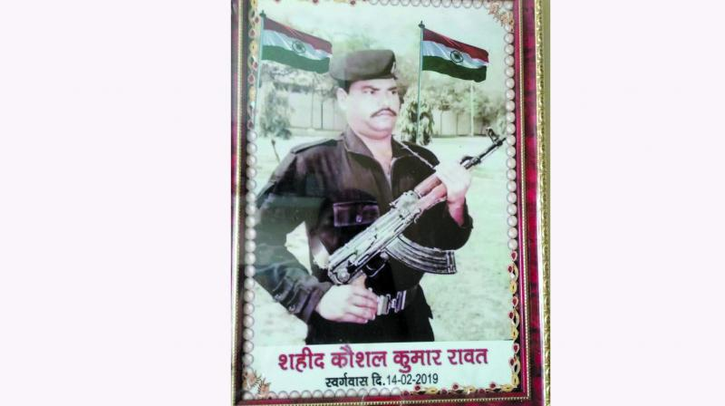 Constable Koushal Kumar Rawat was killed along with his fellow CRPF soldiers in Pulwama terror attack on February 14.