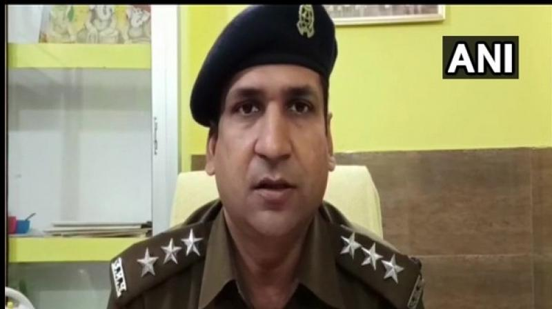 Tejveer Singh, DSP Garhmukteshwa speaks to the media on Friday. (ANI photo)