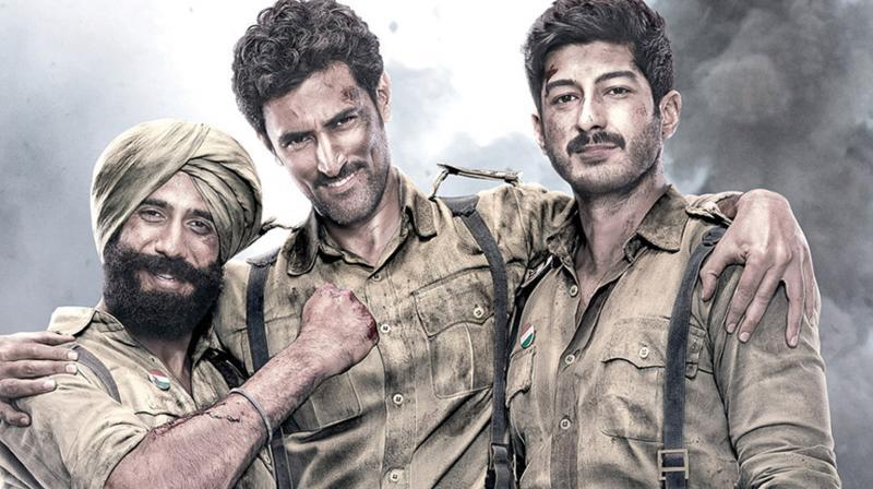 Still from the movie Raag Desh