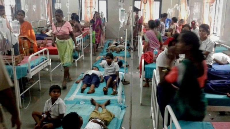 As many as 14 children have died in Bihar's Muzaffarpur due to Acute Encephalitis Syndrome (AES) while over a dozen are admitted in hospitals with high fever and other symptoms of the infection. (Representational Image)