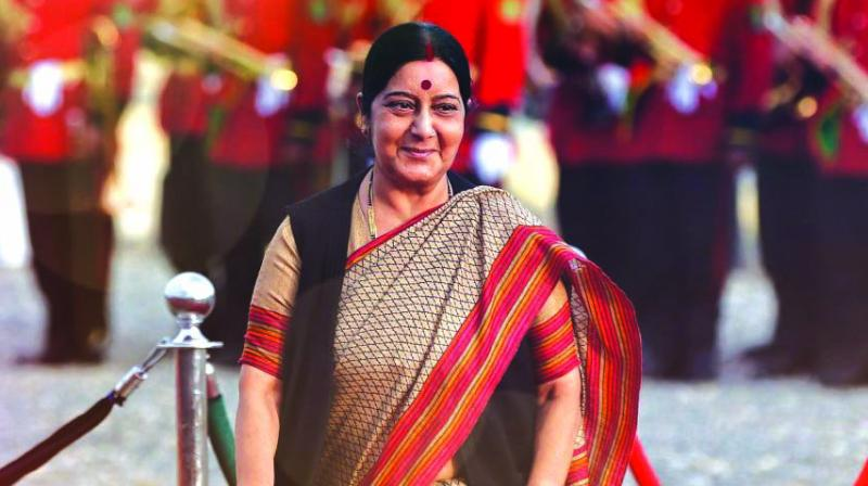 Former External Affairs Minister Sushma Swaraj. (Photo: File)