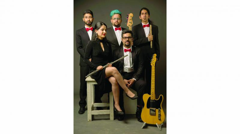 A picture of the band Bollyjazz