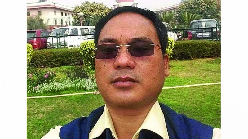 National People's Party (NPP) MLA Tirong Aboh