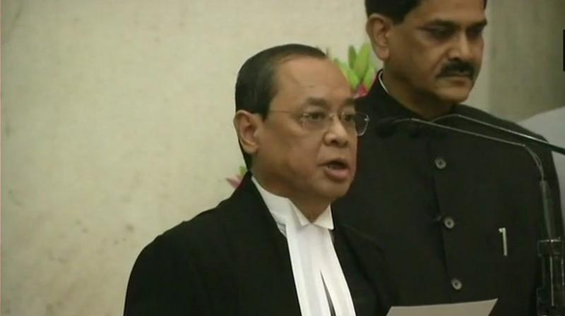Chief Justice of India Ranjan Gogoi (Photo: ANI/Twitter)