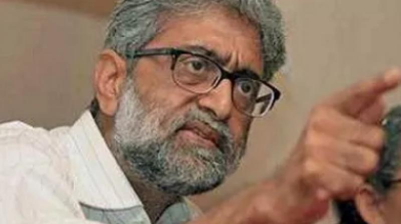 Navlakha might soon be taken into custody by the Pune police as interim protection from arrest granted to him by the Supreme Court expired on Tuesday. (Photo: PTI)