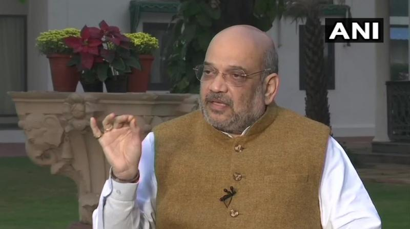 'The Governor invited parties only after the Assembly's tenure ended. Neither Shiv Sena nor Congress-NCP staked claim and neither we,' Shah said. (Photo: ANI)