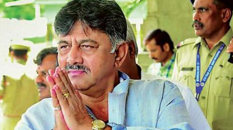 Shivakumar, who was released on bail in a money-laundering case with the Enforcement Directorate, has thrown himself into the campaign mode for the upcoming Karnataka bypolls. (Photo: File)