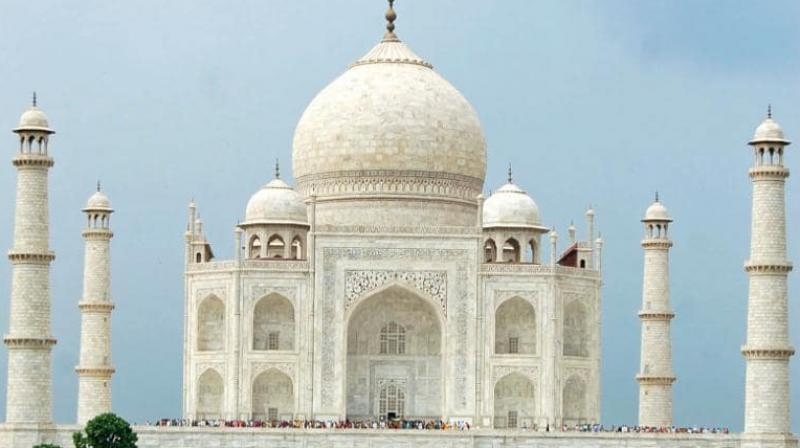 650 tourists will be allowed inside the Taj Mahal premises at one point of time so that COVID-19 protocols are followed. (Photo: Reuters)