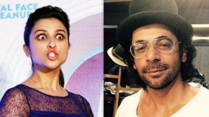 Parineeti Chopra seemed unperturbed with the absence of Sunil Grover from the show after his controversial exit from the show after being abused by Kapil Sharma.