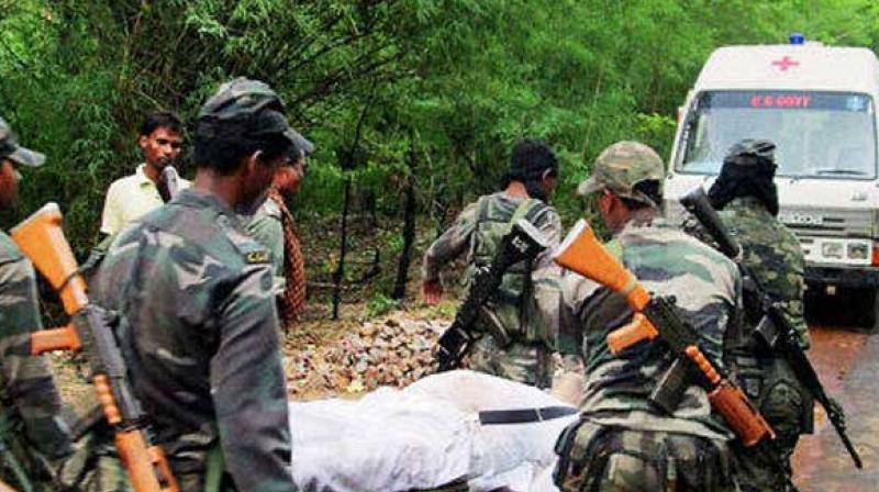At least four jawans of Odisha State Armed Police were on Wednesday evening killed in an IED blast in Odisha's Koraput district. (Photo: PTI/Representational)