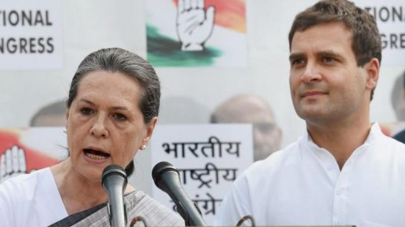 Sonia Gandhi and Rahul Gandhi (PTI)