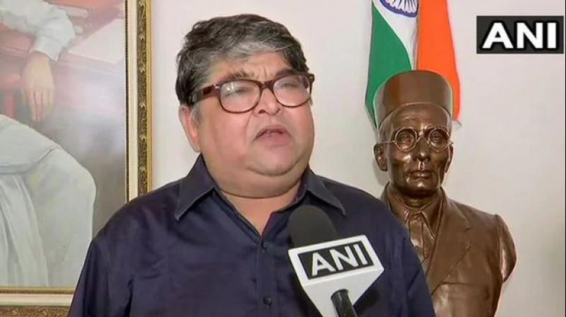 On Sunday evening, Ranjit Savarkar reminded Thackeray, who heads the Shiv Sena, of his past remarks that those who insult VD Savarkar should be thrashed at a public square. (Photo: ANI)