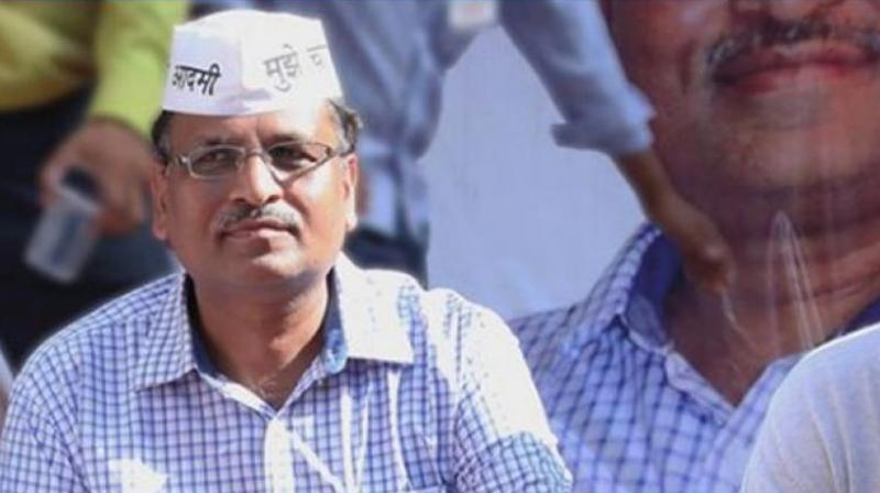 Delhi Health Minister Satyendar Jain. (Photo: File)