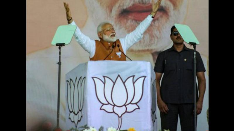 Prime Minister Narendra Modi's address to the nation on the successful test-firing of an anti-satellite missile did not violate provisions of the model code of conduct, the Election Commission said on Friday night. (Photo: File)