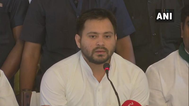RJD leader Tejashwi Yadav on Saturday defended BSP supremo Mayawati and said that the Central Bureau of Investigation (CBI), Enforcement Directorate (ED) and Income Tax (I-T) department are working like 'IT cell' of the Bharatiya Janata Party (BJP). (Photo: File)