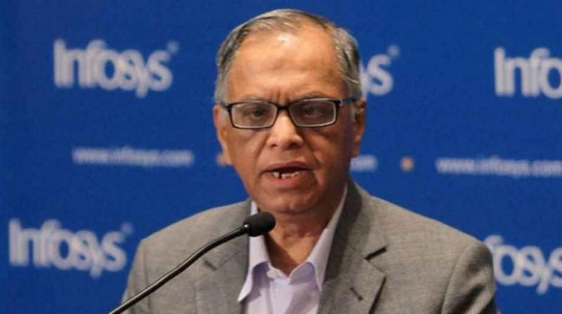 Infosys co-founder Narayana Murthy (Photo: PTI)