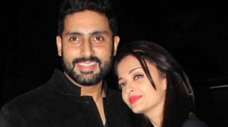 Abhishek Bachchan and Aishwarya Rai Bachchan.