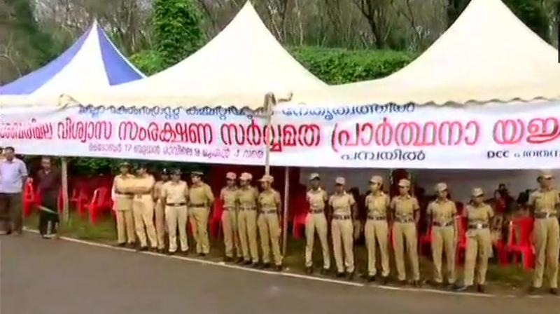 Sabarimala will be under heavy security cover from Saturday night in the backdrop of the violent protests witnessed last month against entry of young women in the 10-50 age group. (Photo: File | PTI)