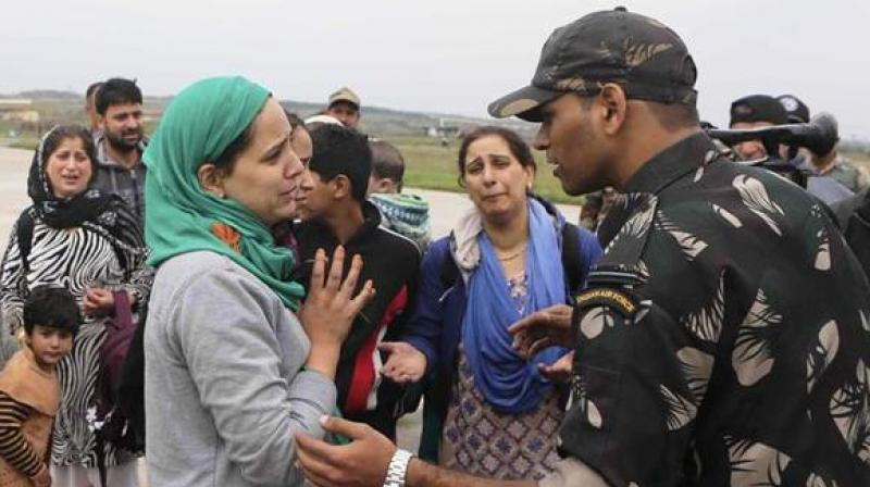 The group will meet people living in the border areas of Valley, security forces were deployed, district administration officials, local public representatives were assigned their duties and will submit their report within two months. (Photo: PTI/Representational)