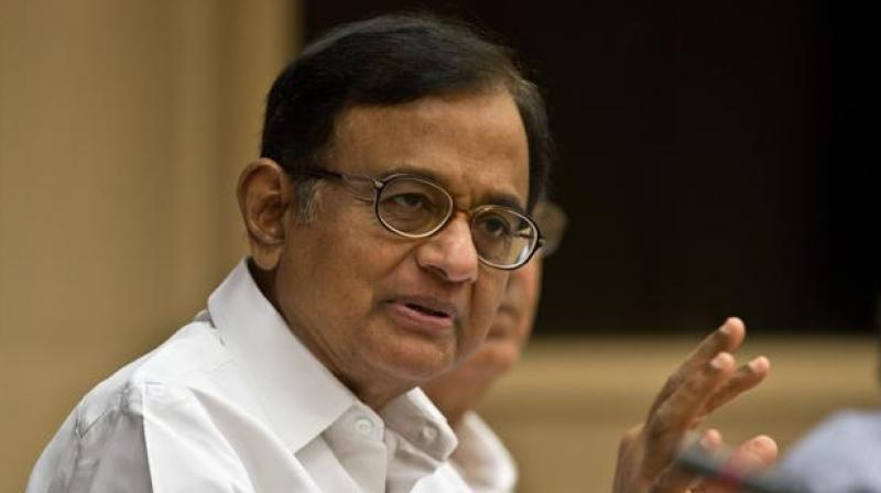 Former Finance Minister P Chidambaram. (Photo: AFP/File)