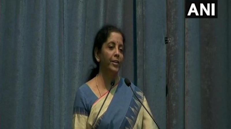 'So every now and then, we get these fantastic cases which have fantastic amounts and claims. They have dimensions to the competition law which many countries -- which are so-called free economies -- are struggling to understand and disaggregate so that they can handle each aspect for itself,' Sitharaman said. (Photo: ANI)