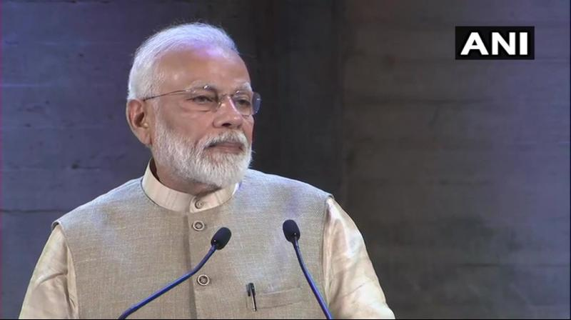 'In new India, the way in which action is being taken against corruption, dynasty politics, loot of people's money, terrorism, this has never happened before,' PM Modi said. (Photo: ANI)
