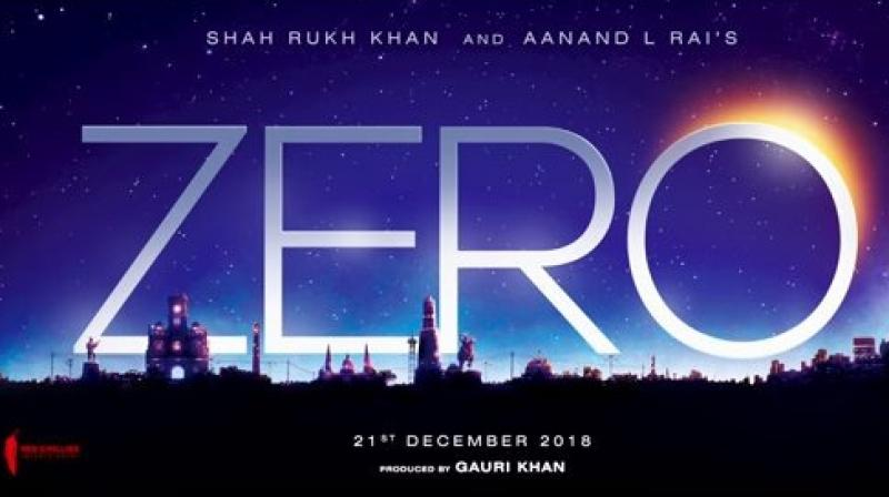 'Zero' title announcement.