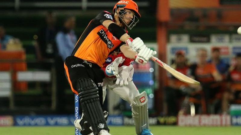 The left-handed Warner has been in excellent touch as he scored lot of runs at the top of the order for Sunrisers Hyderabad in the IPL. (Photo: BCCI)