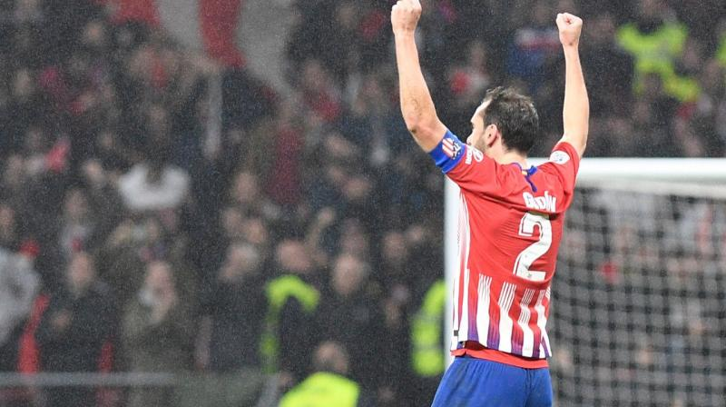 Godin's departure will leave another hole in Atletico's defence, with France international Lucas Hernandez already agreeing to join Bayern Munich in June. (Photo: Diego Godin/Twitter)