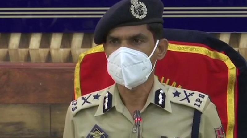 Inspector general of police Vijay Kumar. (Photo:ANI)