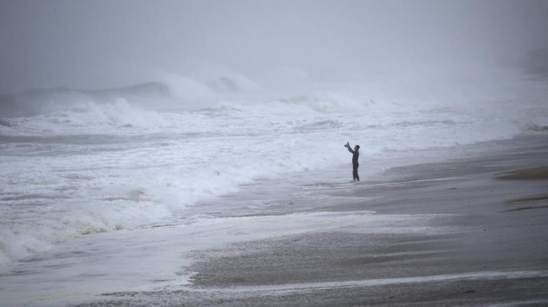 Tropical Storm Henri hit the coast of Rhode Island Sunday. (Photo:AP)