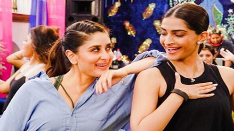 Kareena Kapoor Khan and Sonam Kapoor Ahuja. (Photo: Instagram)