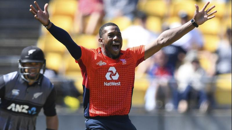 Chris Jordan's all-around brilliance could not prevent New Zealand from securing a series-levelling 21-run victory against England in the second Twenty20 International of the five-match series on Sunday. (Photo:AP)