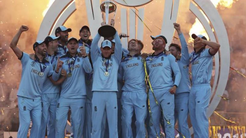 The 2019 Men's ODI World Cup that saw England lift their maiden trophy was the most watched ICC event ever with a global cumulative average live audience of 1.6 billion. (Photo:AP)