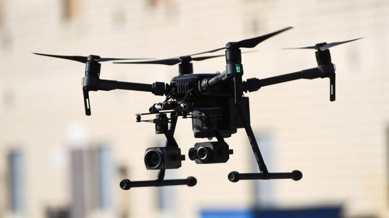 The technology will be tested for numerous commercial applications such as emergency services, delivery of goods, critical medical services, and environmental monitoring. (AFP Photo)