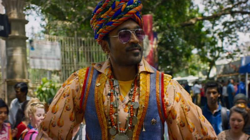 Screengrab of Dhanush's Hollywood debut film, The Extraordinary Journey of the Fakir trailer. (Photo: YouTube/Zee Music Company)