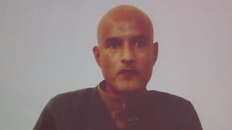 This is the first meeting between Kulbhushan, who was convicted of espionage, and his family since his arrest on March 3, 2016. (Photo: ANI | twitter)
