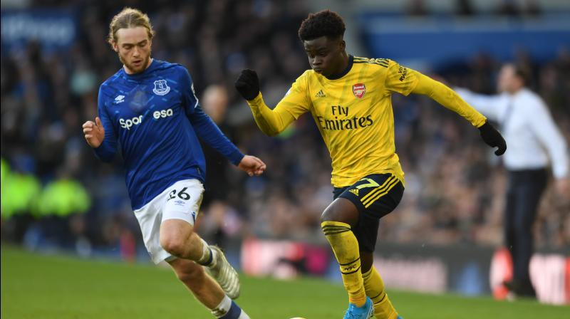Everton were held to a 0-0 home draw by Arsenal on Saturday in a dull Premier League clash, which took a back seat to both clubs naming new managers in a bid to revive their fortunes. (Photo:Twitter)