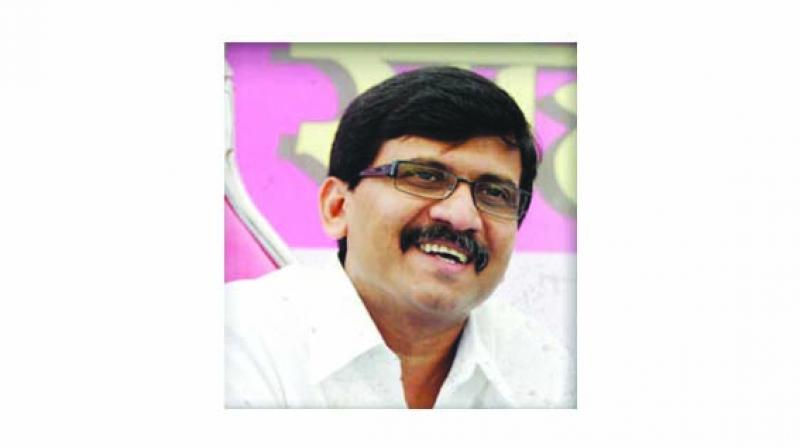 Shiv Sena spokesperson and Rajya Sabha MP Sanjay Raut