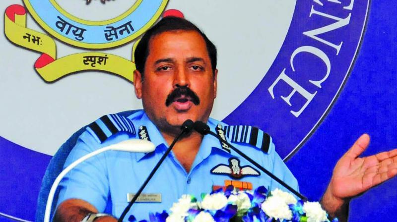 Indian Air Force (IAF) Chief R.K.S. Bhadauria (Photo: GN Jha)