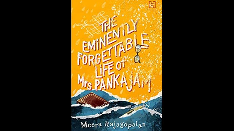 Warning: Be prepared to laugh — and cry. Cover Image of 'The Eminently Forgettable Life of Mrs Pankajam' by 'Meera Rajagopalan'. (Twitter)