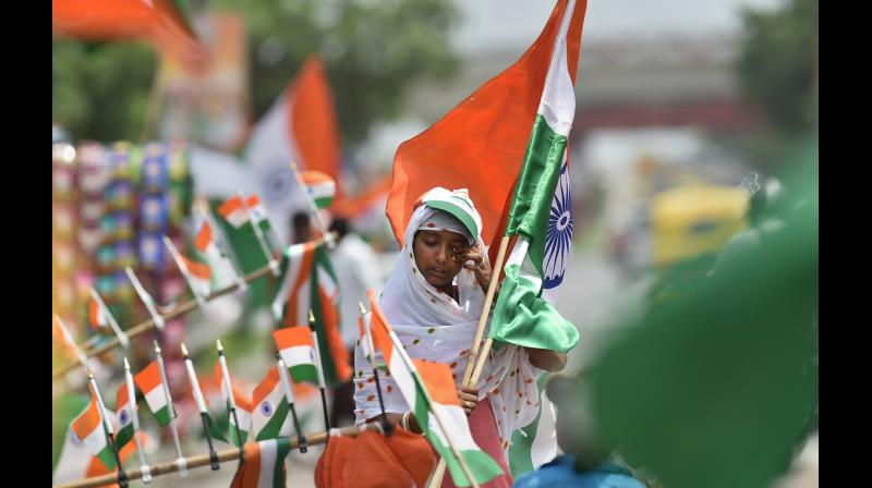 As India looks ahead to the 75 years of its existence as a democratic republic the one thing the people of our great nation must internalise is that eternal vigil is the price of liberty. Representational Image. (PTI)