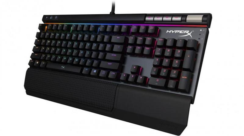 Despite this being a gaming keyboard, the Hyper-X Alloy Elite RGB is at ease when you want to do some general computing stuff such as typing.