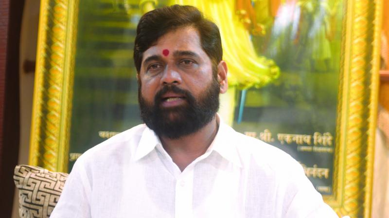 Shiv Sena legislator Eknath Shinde (Photo: Rajesh Jadhav)