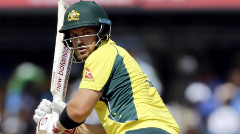 'If that means me batting at six, I'll comfortably do that. If it's at the top, three or four - it doesn't matter', Finch said. (Photo: AP)