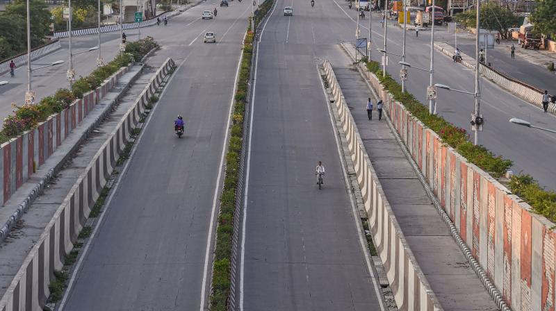 Picture of a highway (PTI photo)