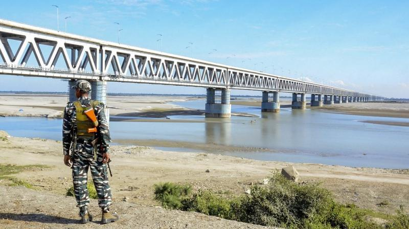 The bridge has a total length of 4.94 km (revised from earlier 4.31 km). (Photo: PTI)