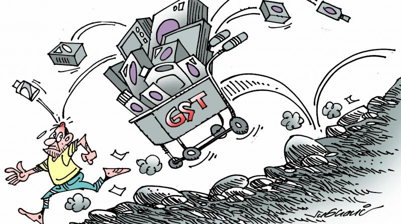 Lack of clarity in GST law as to the applicability of provisions and complex return filing procedures were the major problems.